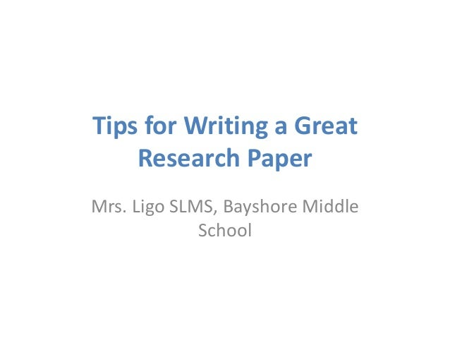 tips for writing a research paper middle school Intended for a middle school writing an introduction to a research paper how to write a research paper fast - research paper writing tips.