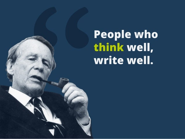 """Peoplewho thinkwell, writewell."
