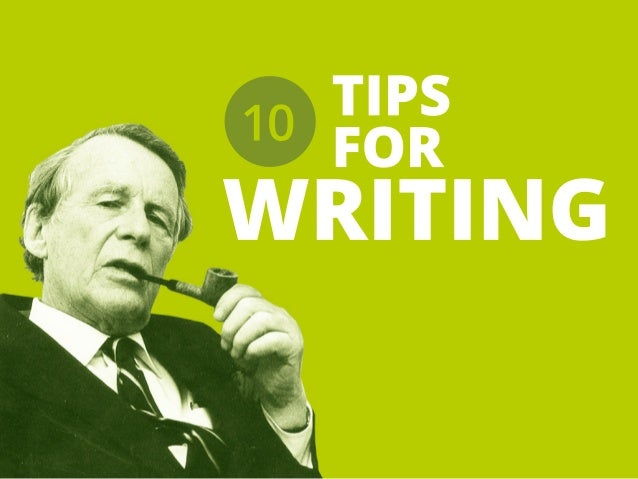 TIPS FOR WRITING 10