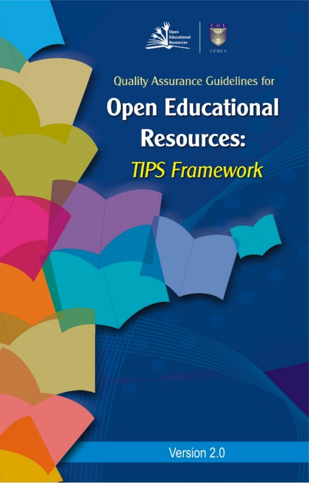Quality Assurance Guidelines for Open Educational Resources  20