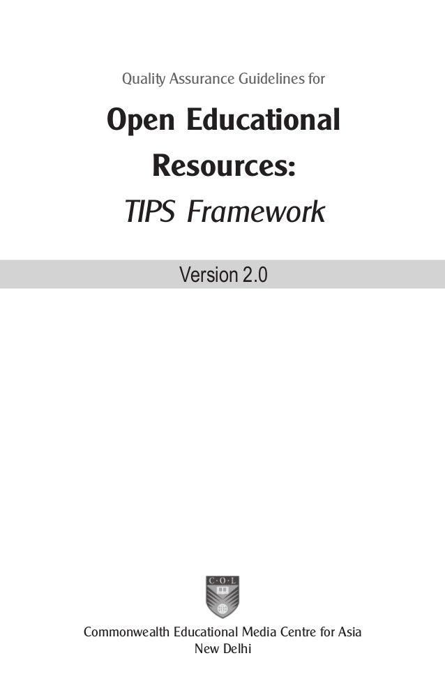 Tips framework version 2.0 low Slide 3