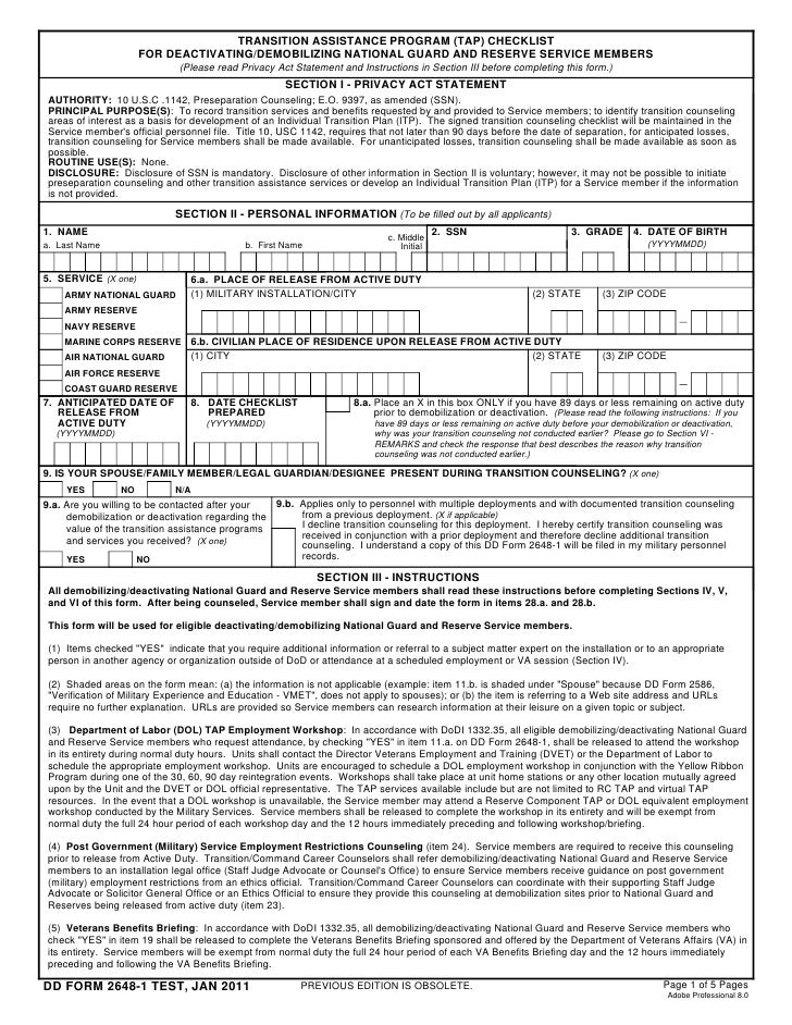 Separation Tip Sheets Usajobs.Gov And Navy Career Wise & New Dd 2648