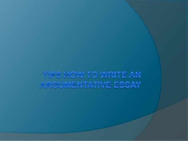 An Argumentative Essay?  An argumentative essay is a type of essay which mainly deals with the views of the writer and at...