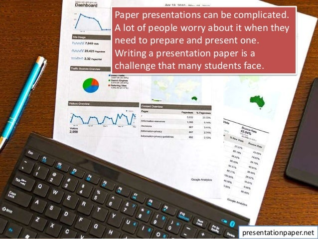 How to write paper presentation