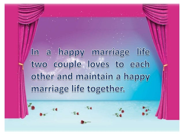 Important tips of happy married life Slide 2