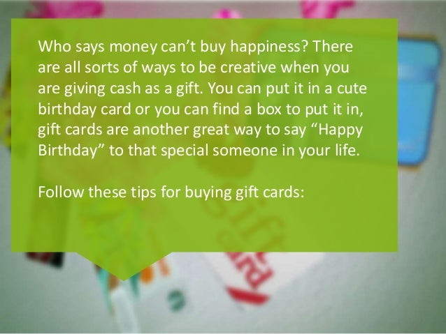 Tips on Buying Discounted Best Buy Gift Cards
