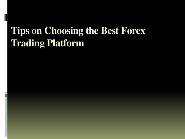 Forex trading platforms and tutorials