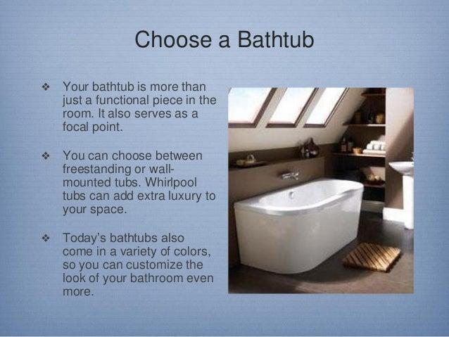 Tips on Designing a Bathroom Slide 3
