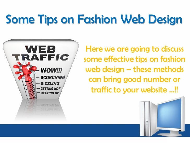 Tips On Fashion Website Design 2