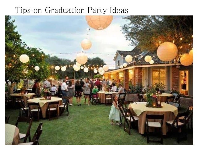 High School Graduation Party Decorating Ideas