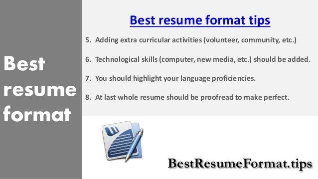 BestResumeFormat.tips; 4. Best Resume ...