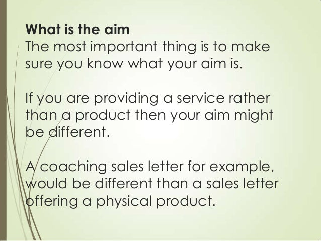Tips On How To Write A Successful Sales Letter