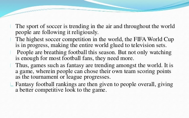 The sport of soccer is trending in the air and throughout the world  people are following it religiously.  The highest soc...
