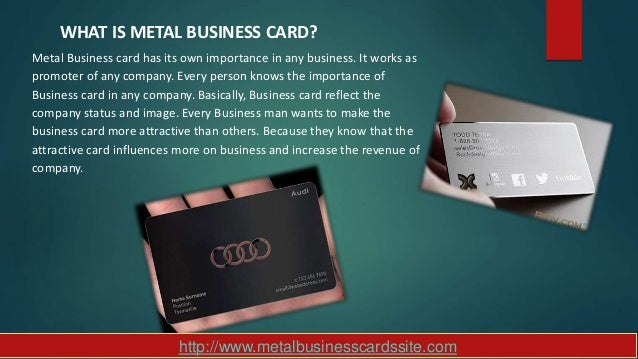 Tips on making your metal business card a powerful marketing tool metal business card is used for specific purpose httpmetalbusinesscardssite 2 reheart Images