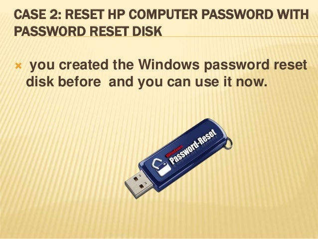 how to bypass hp computer password