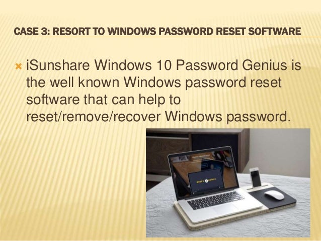 reset hp windows 8 without password