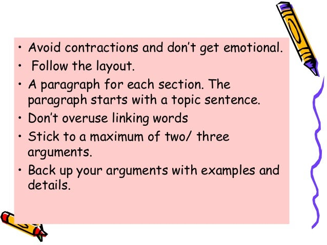 tips on writing a good essay na again use paragraphs to introduce each argument 12