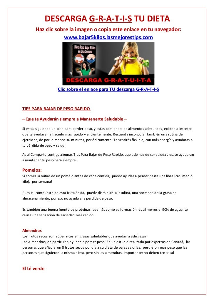 DESCARGA G-R-A-T-I-S TU DIETA        Haz clic sobre la imagen o copia este enlace en tu navegador:                     www...