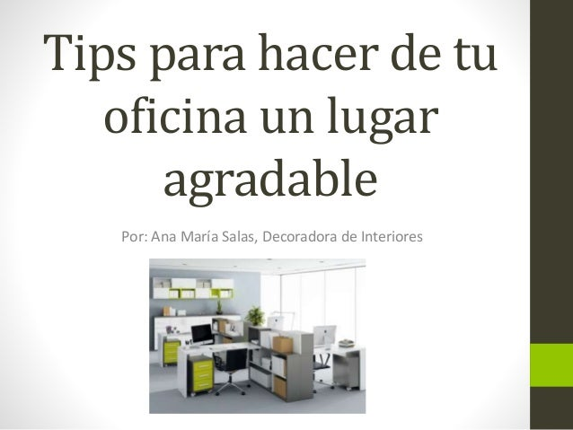 Tips para decorar tu oficina for Significado de oficina