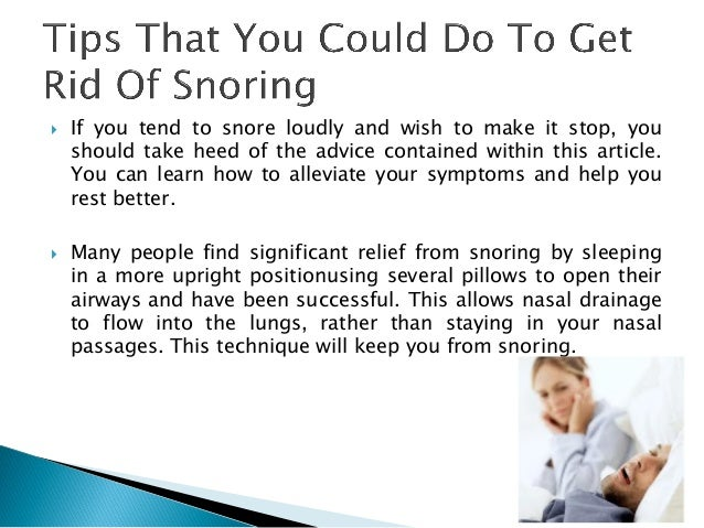 how to get rid of snoring roommate