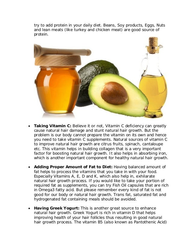 Natural Hair Boosting Supplements