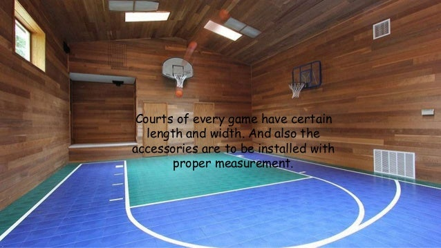 Tips to build an indoor basketball court for your home for Build indoor basketball court