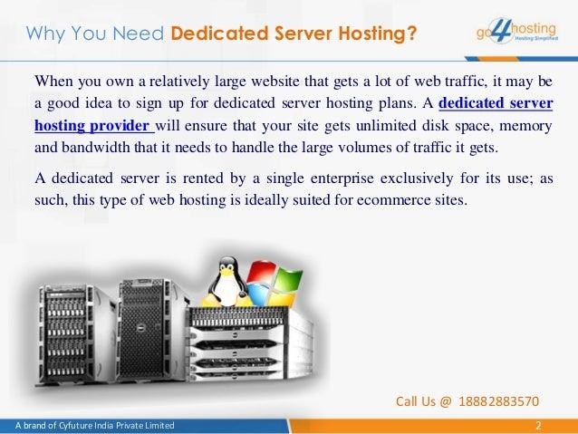 Dedicated server companies n