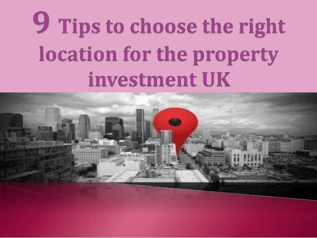  Property investment is one of the best among all the investment process.  The property investment contained with variou...