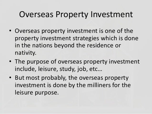 Tips to choose the vacation property in overseas Slide 2