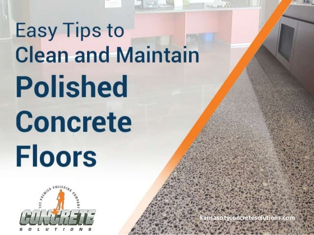 Tips to clean and maintain polished concrete floors for How to mop concrete floor