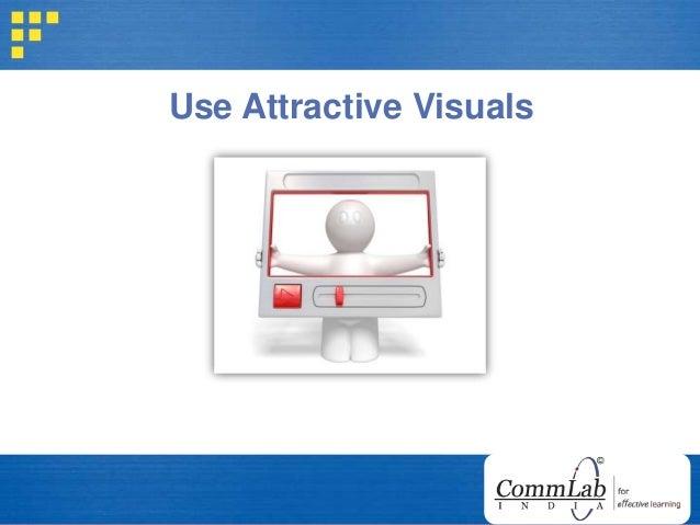 Use Attractive Visuals
