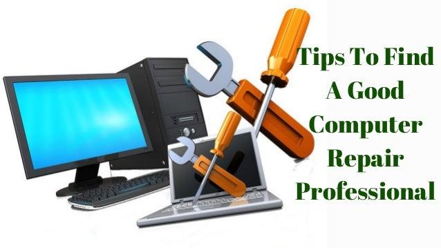 Computer Repair Tips - 2020