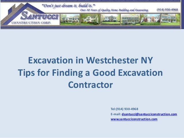 Tips To Find A Good Excavation Contractor