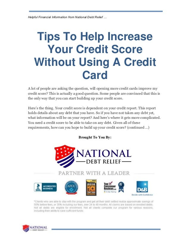 asking for credit increase