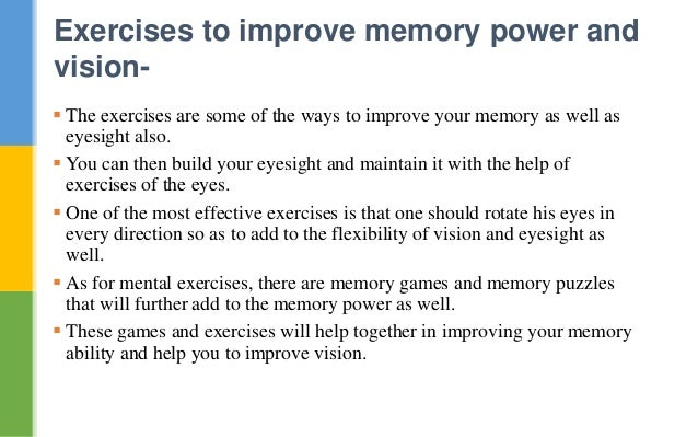 improving memory as one ages Researchers have found that being tested on information is actually one of the best ways to improve recall one memory in one classic experiment age.