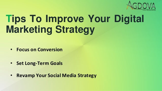 Tips to improve your digital marketing strategy Slide 3