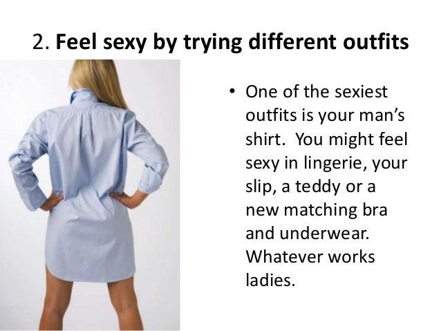 Ways to improve your sex life