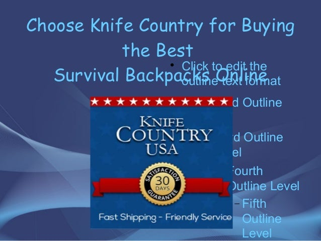 Tips to keep in mind to buy the best survival backpack