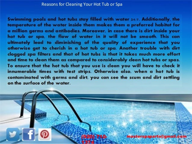 how to keep a hot tub clean