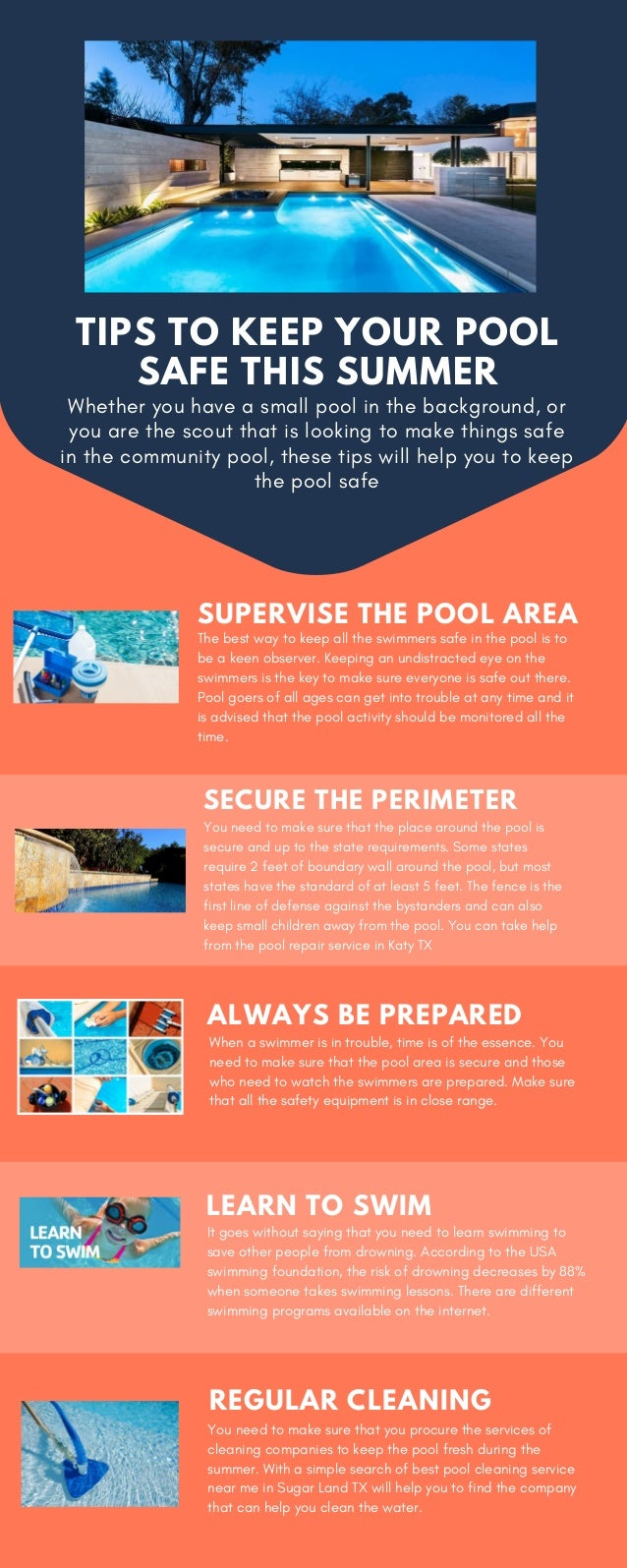 Tips to keep your pool safe this summer