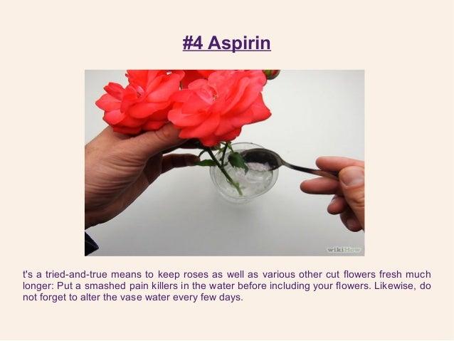 SlideShare & Tips To Make Flowers Last Longer Using 6 Household Ingredients!!