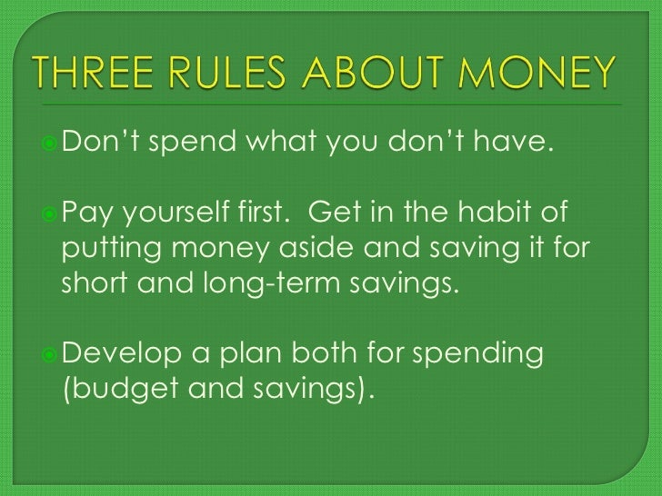 Beginner's guide to managing your money