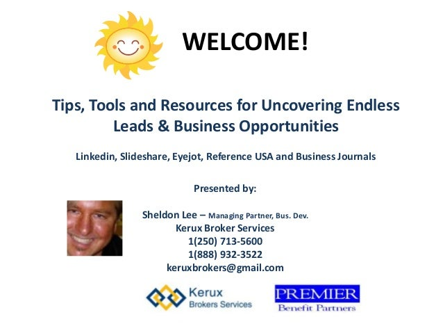 Tips tools and resources for uncovering endless business leads tips tools and resources for uncovering endless leads business opportunities linkedin reheart Image collections
