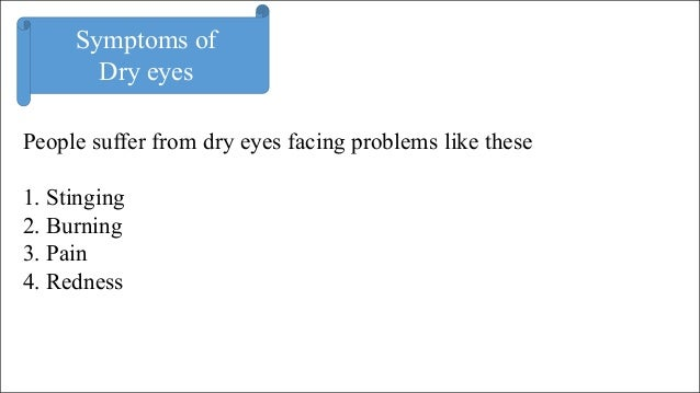 Tips to Relieve from Dry Eyes