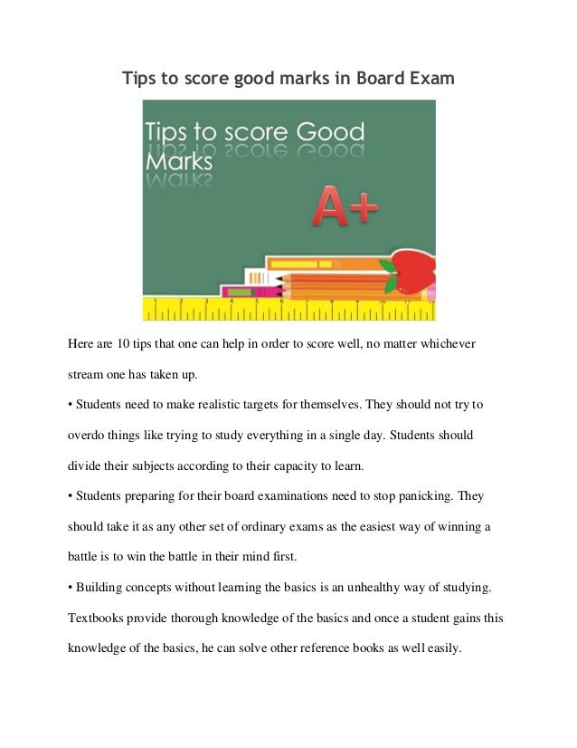 how to score a