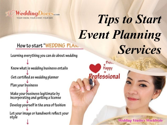 Wedding And Event Planning Courses Home Learning