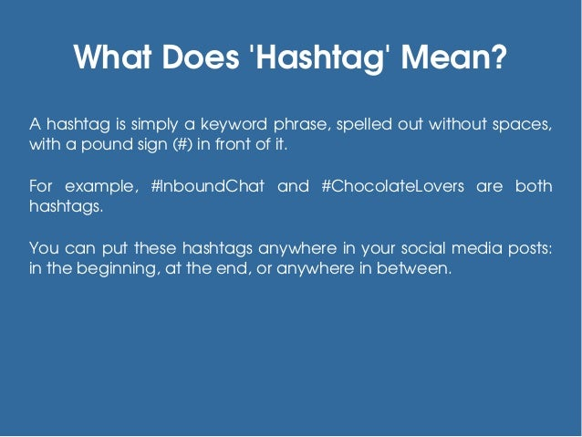 Tips To Use Hashtags On Social Media