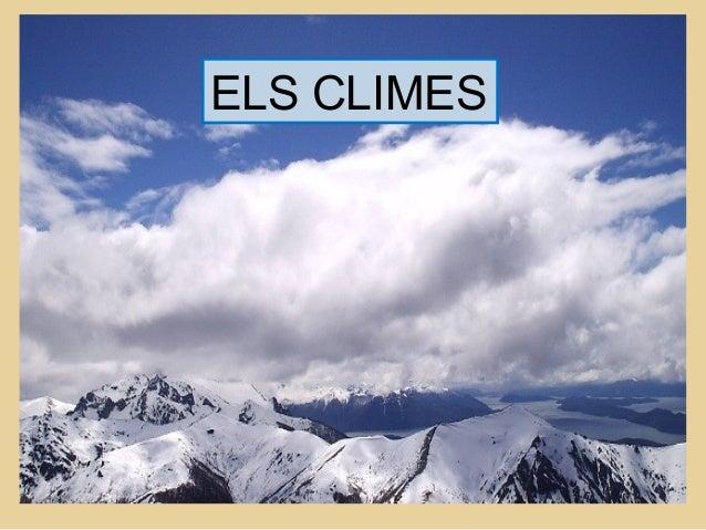 ELS CLIMES
