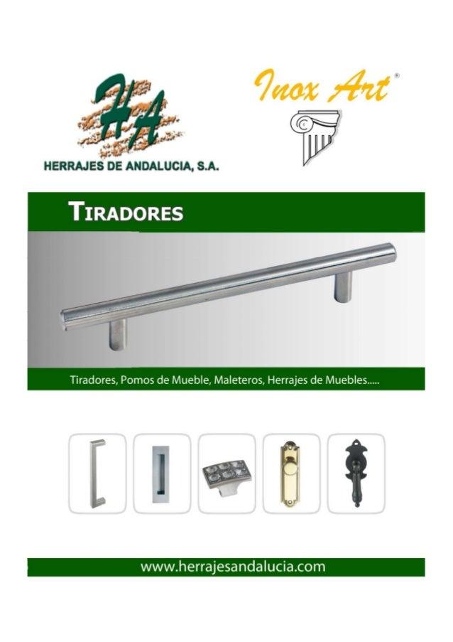 16149f4afbc5 Tiradores para muebles en Herrajes de Andalucia