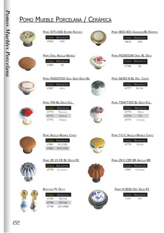 Tiradores para muebles en herrajes de andalucia - Tiradores de porcelana ...